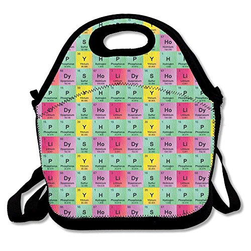 Science Teacher Funny Elements Periodic Table Biology Physics Lunch Bag...