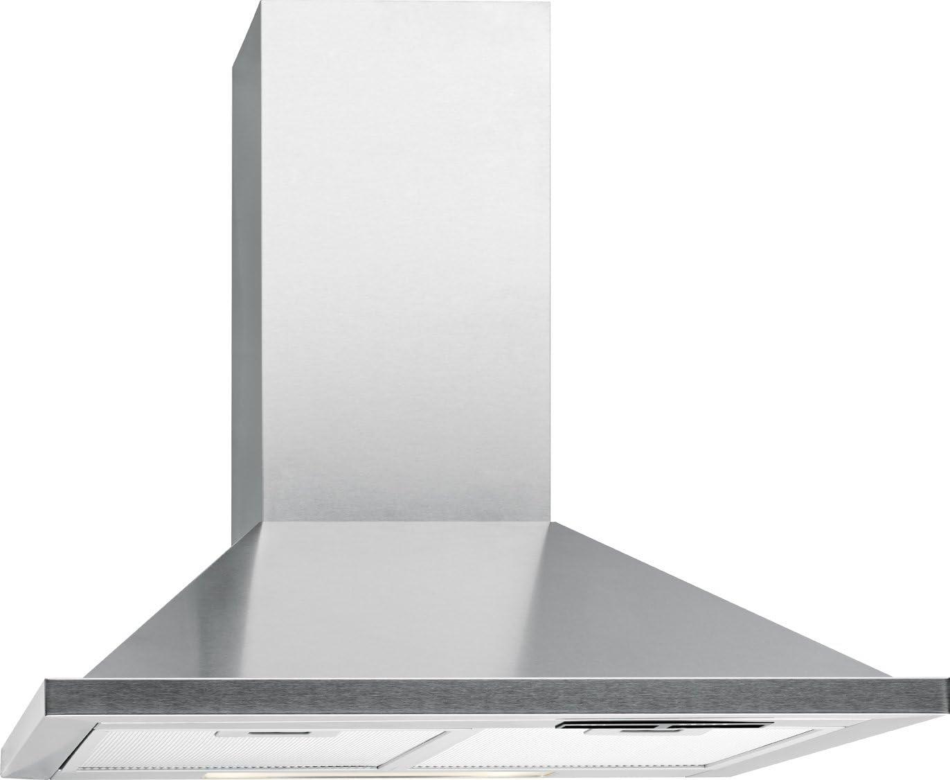 Bomann DU 652 Campana extractora decorativa 60cm 400m³/h, recirculación de Aire o por conducto, 3 Niveles Potencia, filtros extraibles de Aluminio Lavables, Acero Inoxidable, 121 W: Amazon.es: Grandes electrodomésticos
