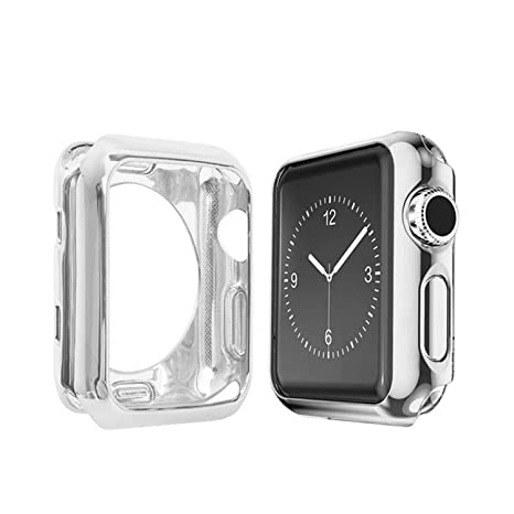 Morenitor Carcasa para Apple Watch, 42 mm/38 mm, silicona ...