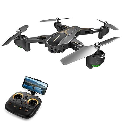 Quadcopter, 1080P HD RC Helicóptero Drone GPS Drone Plegado Selfie ...
