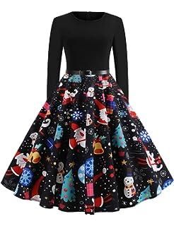 1475458956151 FeelinGirl Femme Robe Pull Noel Robe Mere Noel Bebe Robes pour Noel Robe Grossesse  Noel Robe