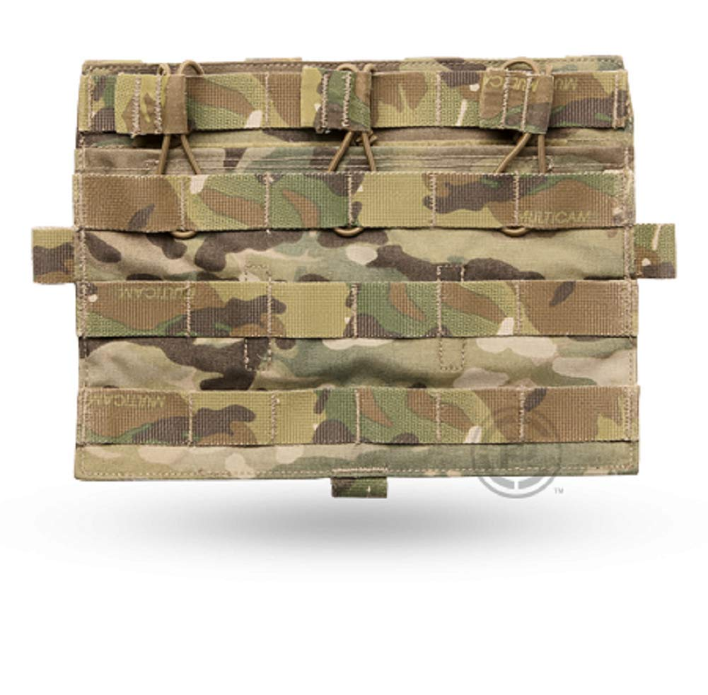 CRYE PRECISION - AVS Detachable Flap Flat Mag Pouch - Multicam - Holds 3 Mags by CRYE PRECISION