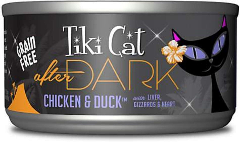Tiki Cat After Dark Chicken & Duck 2.8 oz Can Case 12