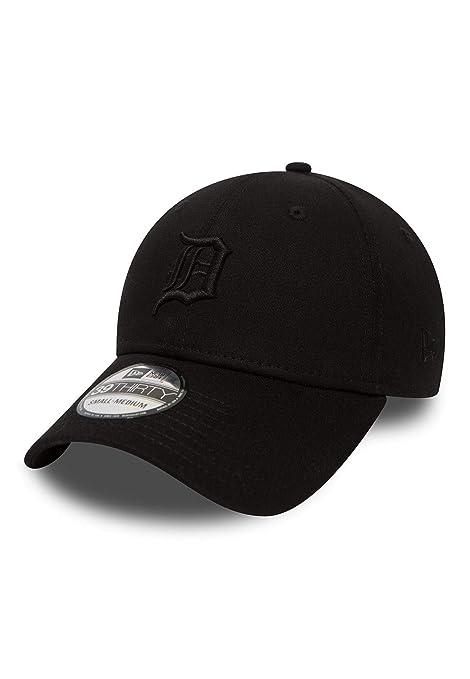 A NEW ERA Gorra béisbol 39THIRTY Black on Black Detroit Tigers Negro