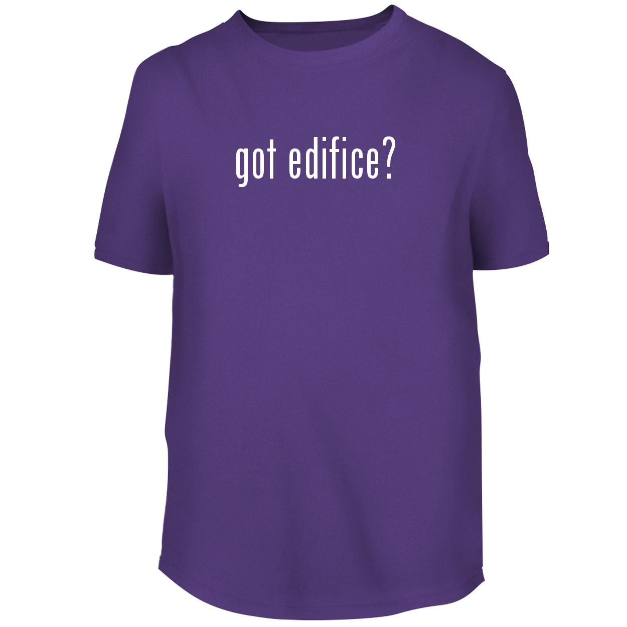 BH Cool Designs got Edifice? - Men's Graphic Tee, Purple, X-Large