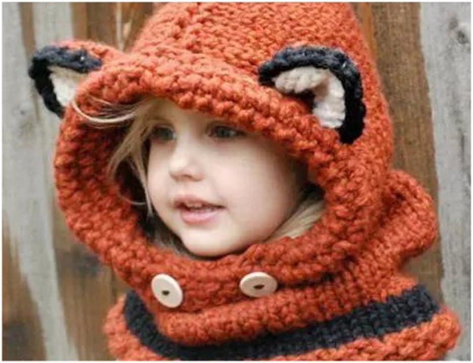 Isotoner Cagoule enfant motif renard