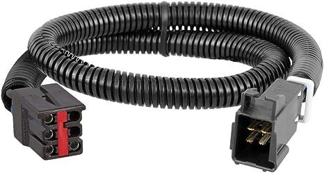 CURT 51323 Quick Plug Electric Trailer ke Controller Wiring Harness on