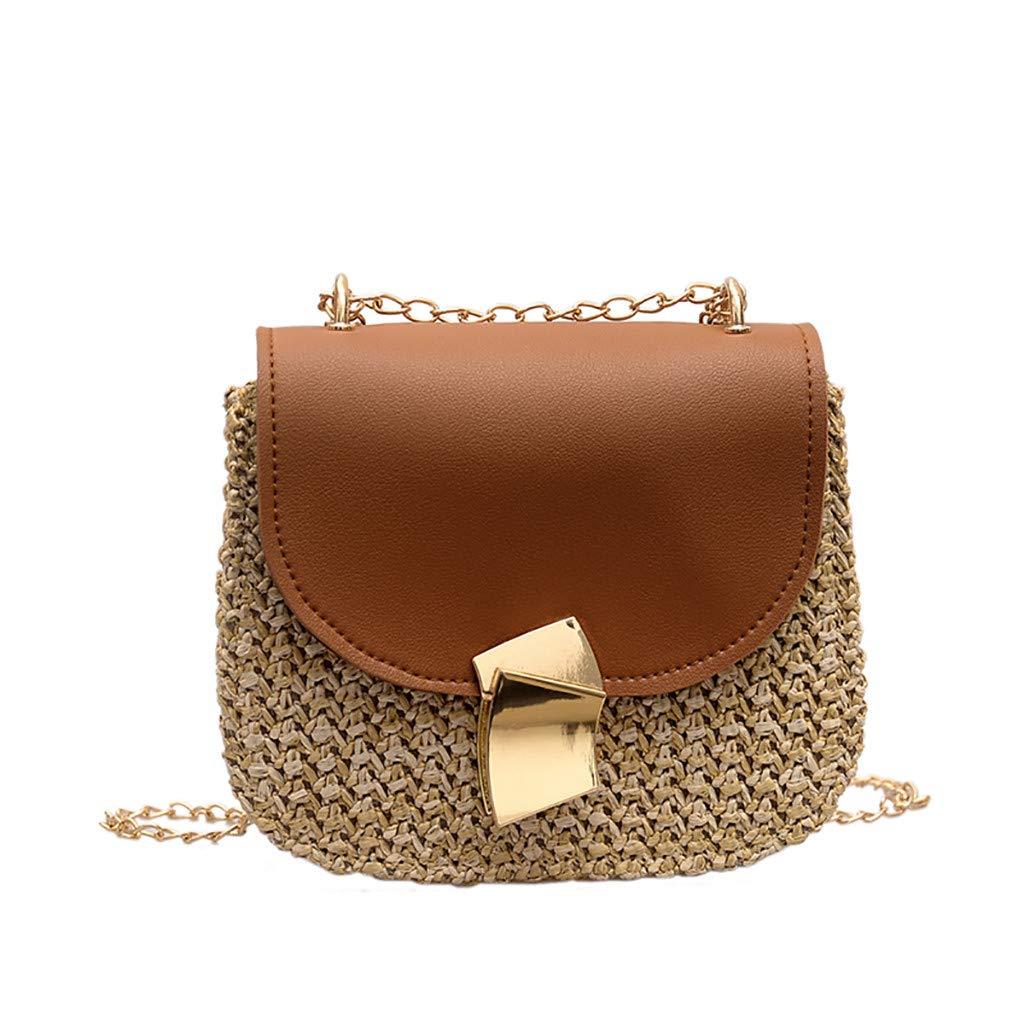 Youngh Women Envelope Handbag Clutch Purse Women Shaped Lock Wild Messenger Bag
