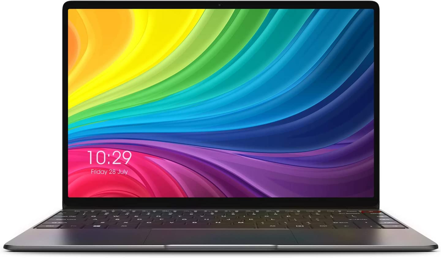 CHUWI AeroBook Laptop Computer, 13.3 Inch 1080P Bezel-Less IPS Screen, Intel Core M3 Processor, 8G / 256G SSD Fanless Windows Notebook with Type-c PD Charging, Lighter and Thinner