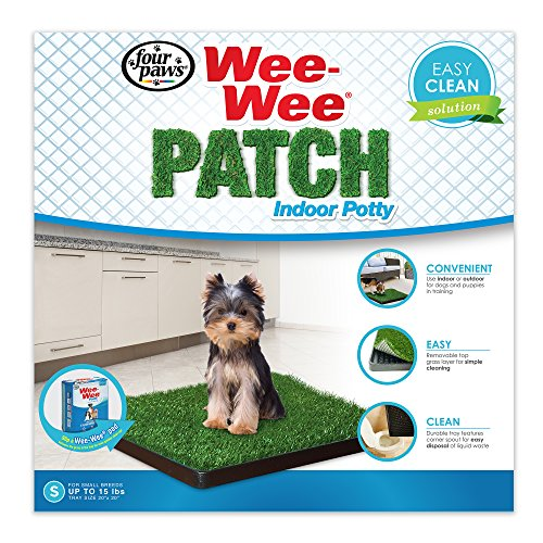 Four Paws Wee-Wee Dog Grass Patch Tray, Small