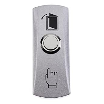 Lennonsi Interruptor de Salida Táctil Puerta Pulsador Toque Botón Para Oficina Casa Puerta Acceso Control Sistema