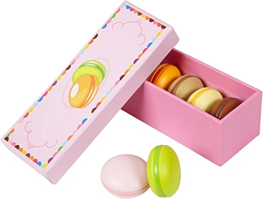DJECO Box of 6 Macaroons