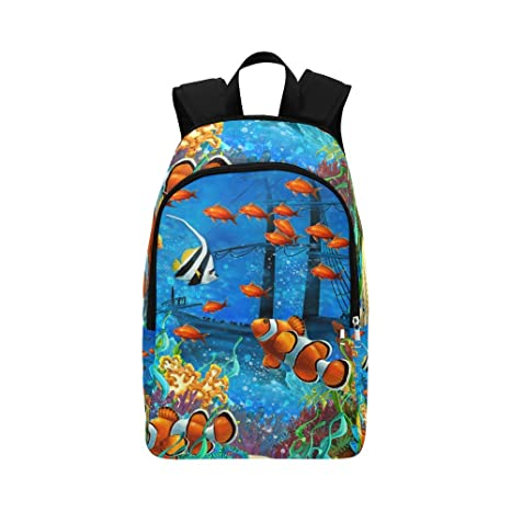 505af62277ba Amazon.com  your-fantasia Underwater Sea Tropical Fish Coral Unisex ...
