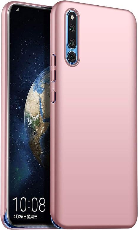 1SourceTek Compatible para Funda Huawei Honor Magic 2 Estuche Protector para Celular Delgado Minimalista Protector Anti-Rasguño de Alta Calidad para Huawei Honor Magic 2 (Oro Rosa): Amazon.es: Belleza