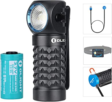 OLIGHT Perun Mini LED Stirnlampe 1000 Lumen USB aufladbare Kopflampe+I3E