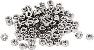 Bolt Fastener - TOOGOO(R) Metric M4 Hex Nut 304 Stainless Steel Fastener DIN 934 100pcs for Bolt
