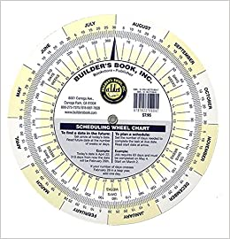 Scheduling Wheel Chart Builders Book Inc Datalizer 9781622709847 Amazon Books