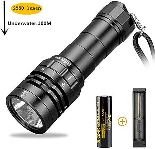 Amazon.com: Sofirn SD05 CREE XHP50.2 - Linterna de buceo ...