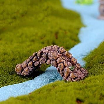 anyuq66qq Decoración Navideña Pozo De Agua Piscina Resina Vintage Craft Micro Paisaje Figuras Artificiales Adornos De Jardín Regalo En Miniatura Decoración De Hadas Para El Hogar, F: Amazon.es: Bricolaje y herramientas