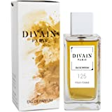 DIVAIN-125 / Similaire à Jasmin Noir de Bulgari / Eau de parfum pour femme, vaporisateur 100 ml