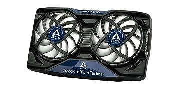 Arctic Accelero Twin Turbo II - Ventilador de tarjetas gráficas (diámetro del ventilador: 92