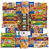 Cheap Healthy Bars, Nuts & Crackers Snack Pack Assortment by Variety Fun (Care Package 36 Count)