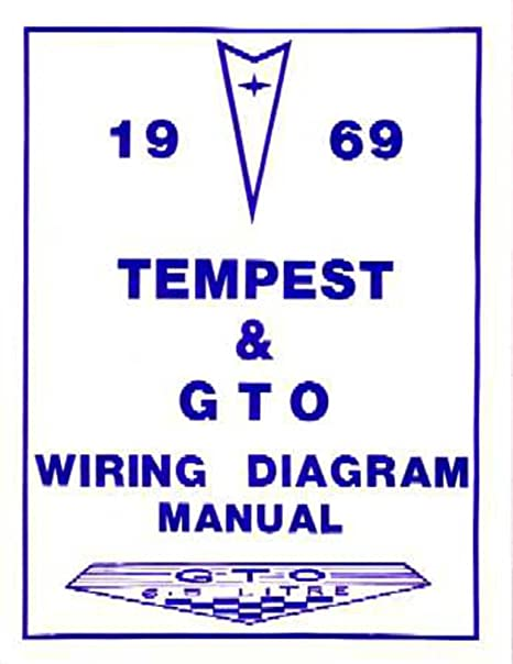 image unavailable  image not available for  color: bishko automotive  literature 1969 pontiac gto tempest electrical wiring diagrams