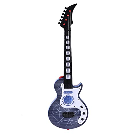 WEIZQ Mini 4 Cuerdas Guitarra Infantil Juguete para los pequeños músicos - ¡para Crear tu