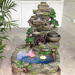 AGPtEK Mist Maker Fog Maker for Water Fountain Pond Rockery Fishtank Vase Birdbath (Atomization Amout:=300mL/H)