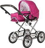 Brio–248913143in 1Combi Doll's pram–Pink