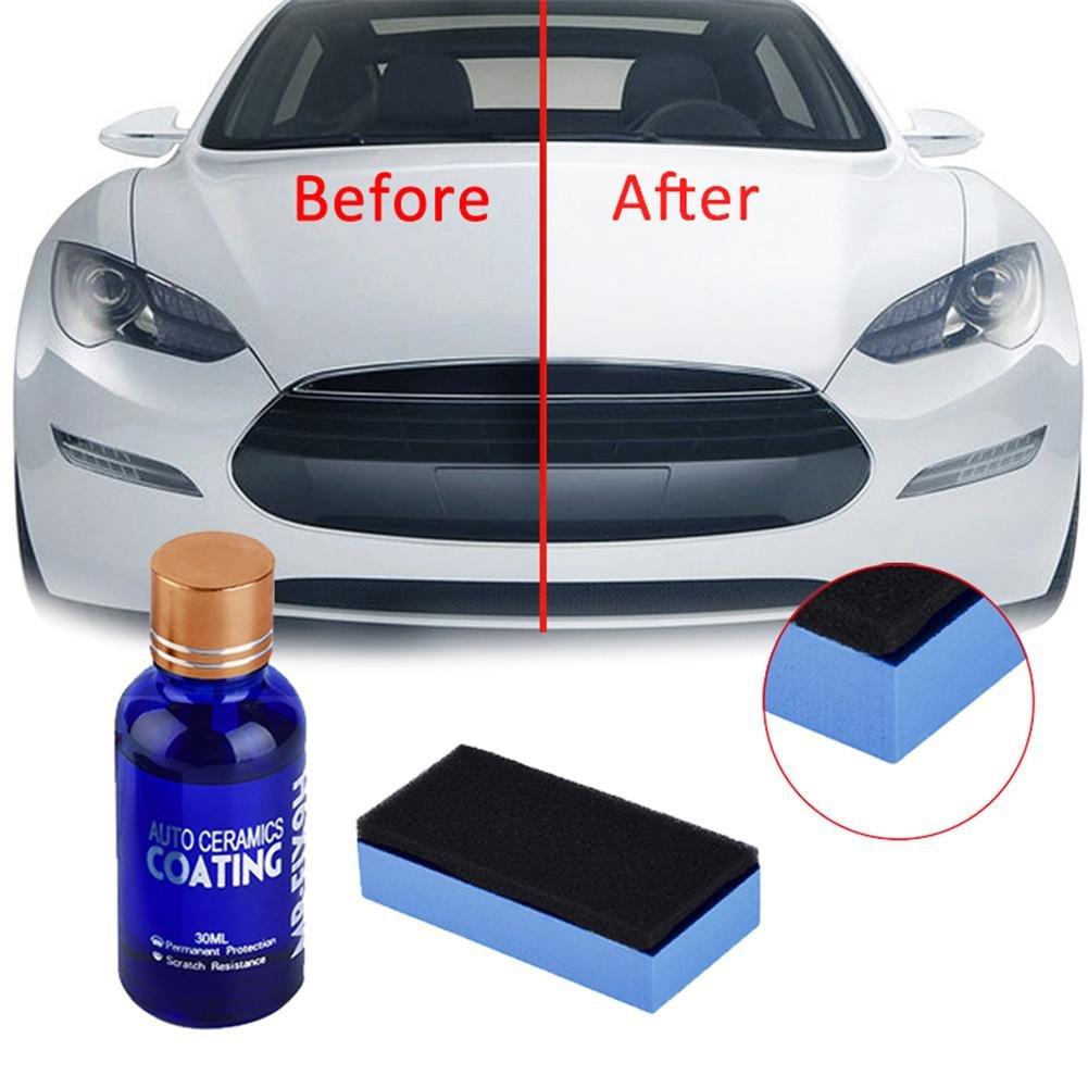 Bumper Car Ceramic Coating Paint Sealant Cover Scratch Car Polishing Car High Gloss Ceramic Coating Car Detail Glass Pride&Ppund