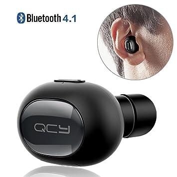 QCY QY8 inalámbrico deportes BT4.1 auriculares estéreo auriculares auricular con micrófono para iPhone Samsung