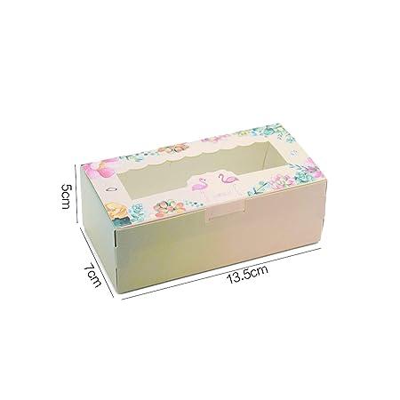 10 cajas de papel de flamenco para regalo de cumpleaños ...