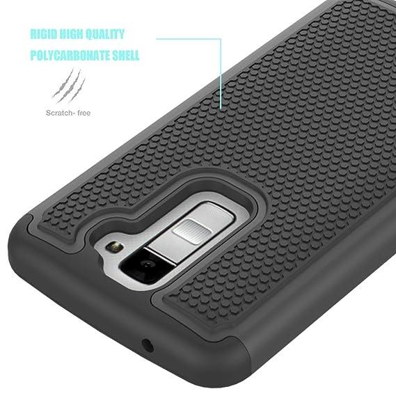 hot sale online fae21 6d524 Amazon.com: LG K10 Case, LG Premier Case Cover Accessories, OEAGO ...