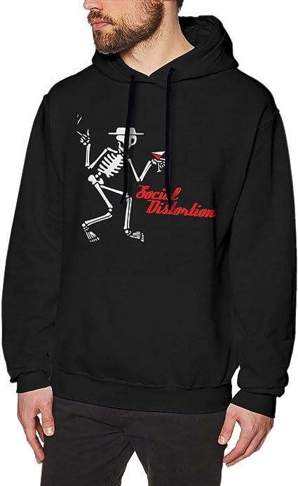 Imagen deADUUOS Social Distortion Irish Mens Long Sleeve Sweatshirts Men Hoodies Black