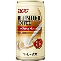 UCC 悠诗诗单品焙煎牛奶咖啡饮料 185g(日本进口)(新老包装 随机发货)(特卖)