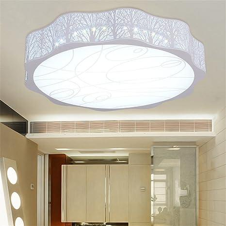 Leihongthebox Luces luces led redonda dormitorio niños luz luz de techo, ajustar la banda luminosa
