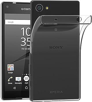ivoler Funda Carcasa Gel Transparente para Sony Xperia Z5 Compact ...