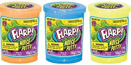- Fart Putty Slime Flarp Noise Putty 8 pack Assorted Colors