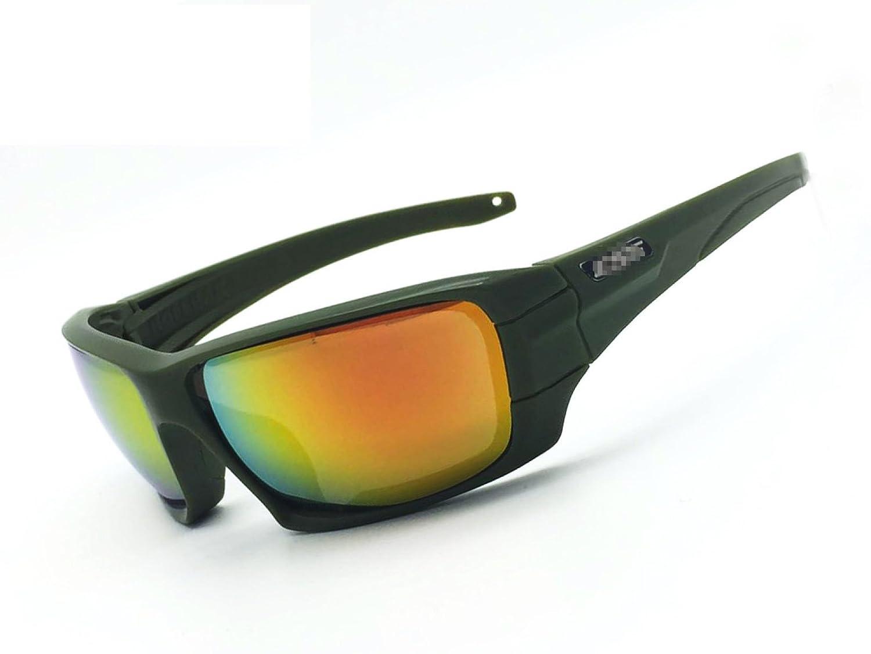 MEI Goggles Schieß brille Nachtsichtgerä te Bullet Tactical Polarisierte Glä ser Produktgrö ß e: 5.9in * 1.9in Black WUDONGMEI