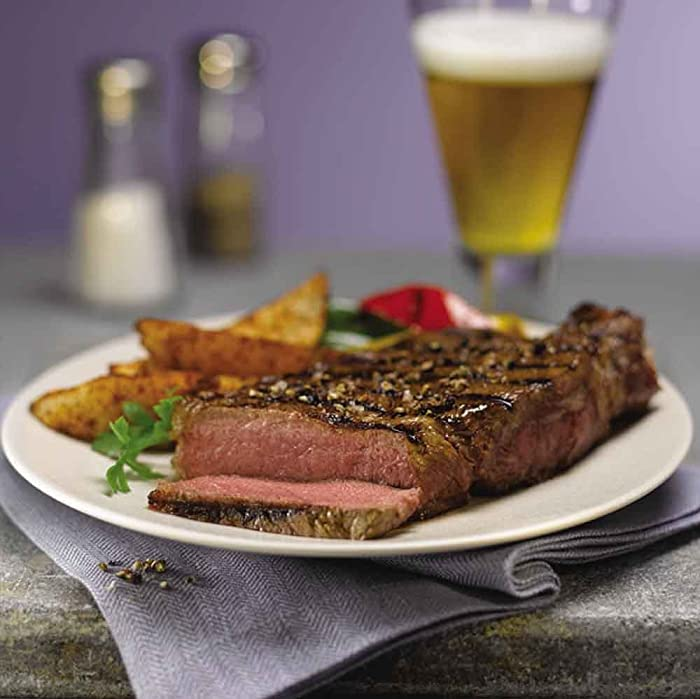 Cook ny strip steak oven