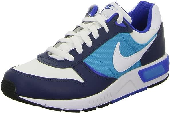 Nike - Zapatillas de Material Sintético para Hombre Azul Celeste - Bianco - BLU 41 Azul Size: 39: Amazon.es: Zapatos y complementos