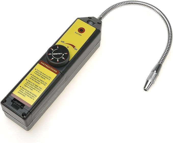 Refrigerador de coche alarmante Halógeno freón analizador HFC coche a//c detector de fugas de gas