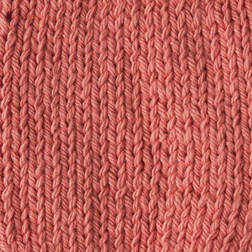Lily Sugar 'N Cream The Original Solid Yarn, 2.5oz, Medium 4 Gauge, 100% Cotton - Tangerine - Machine Wash & Dry