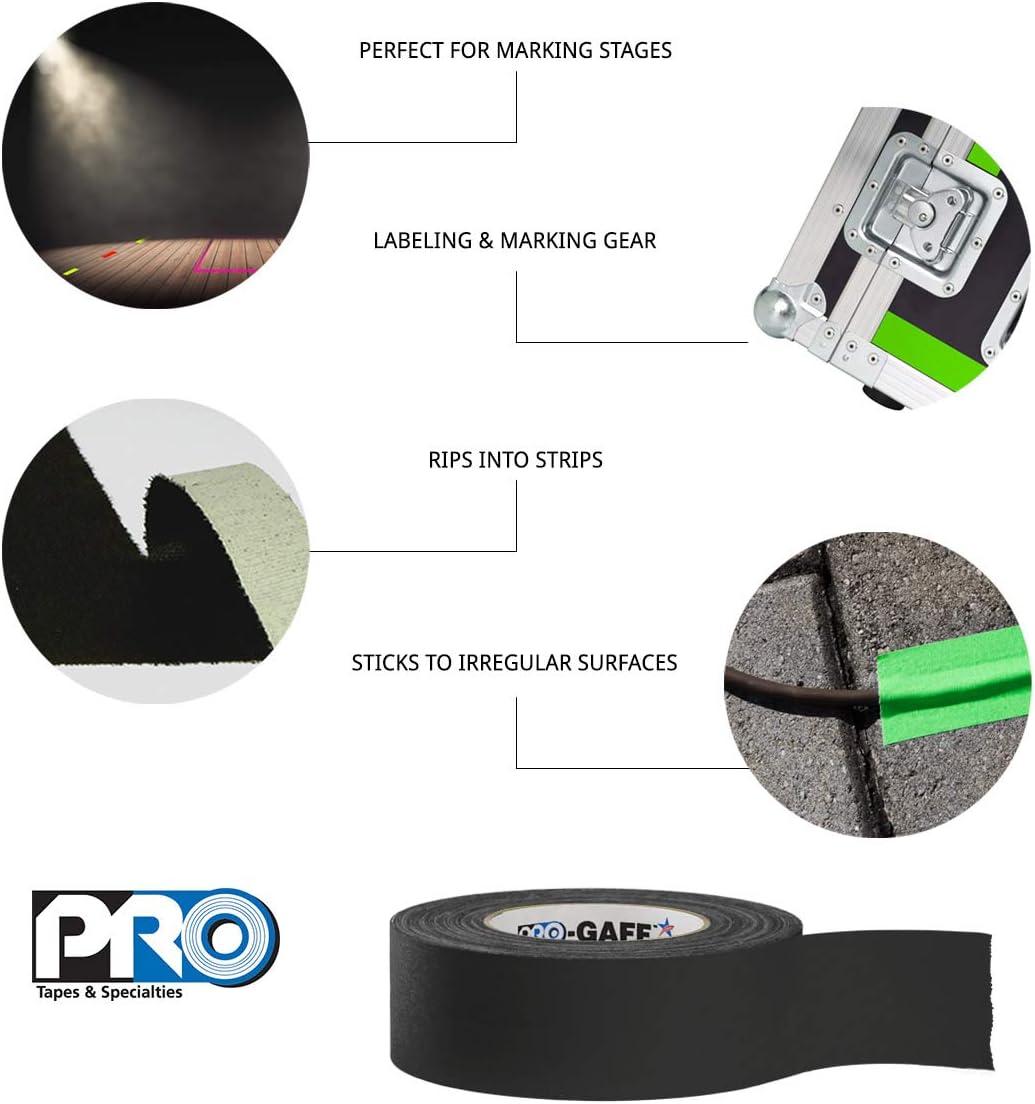 nero Pro tapes pro-gaff Gaffers tape Pro-Gaff//BLK260