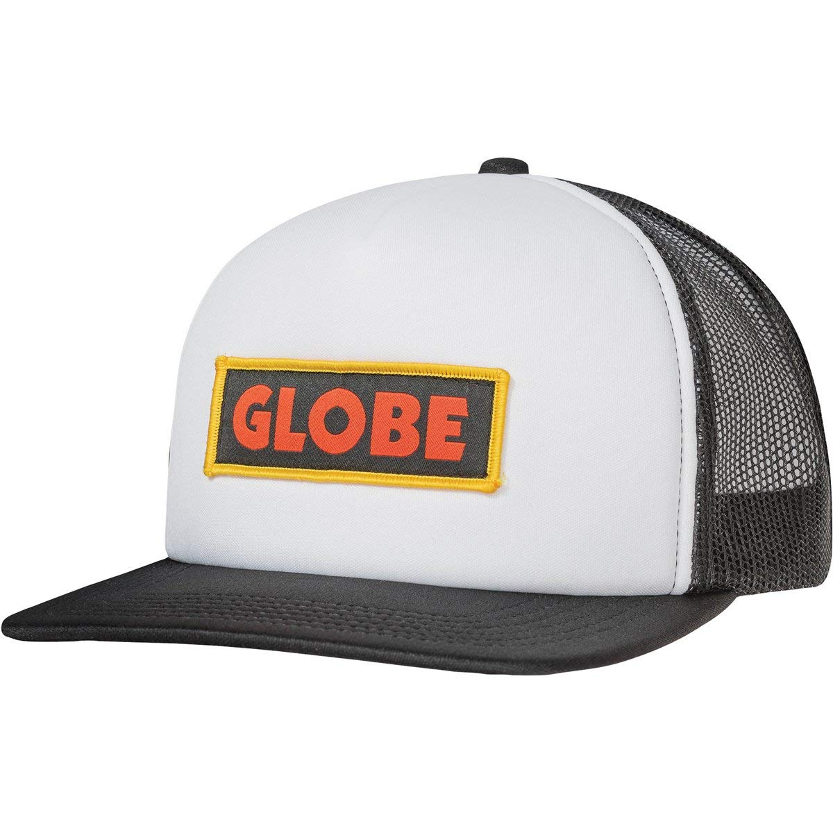 Globe Primed Trucker Gorra, Unisex Adulto, White/Black, Talla ...