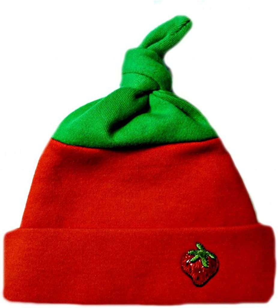 new materials,soft, red,6-12 months Unisex cotton beanie To Our Preemies