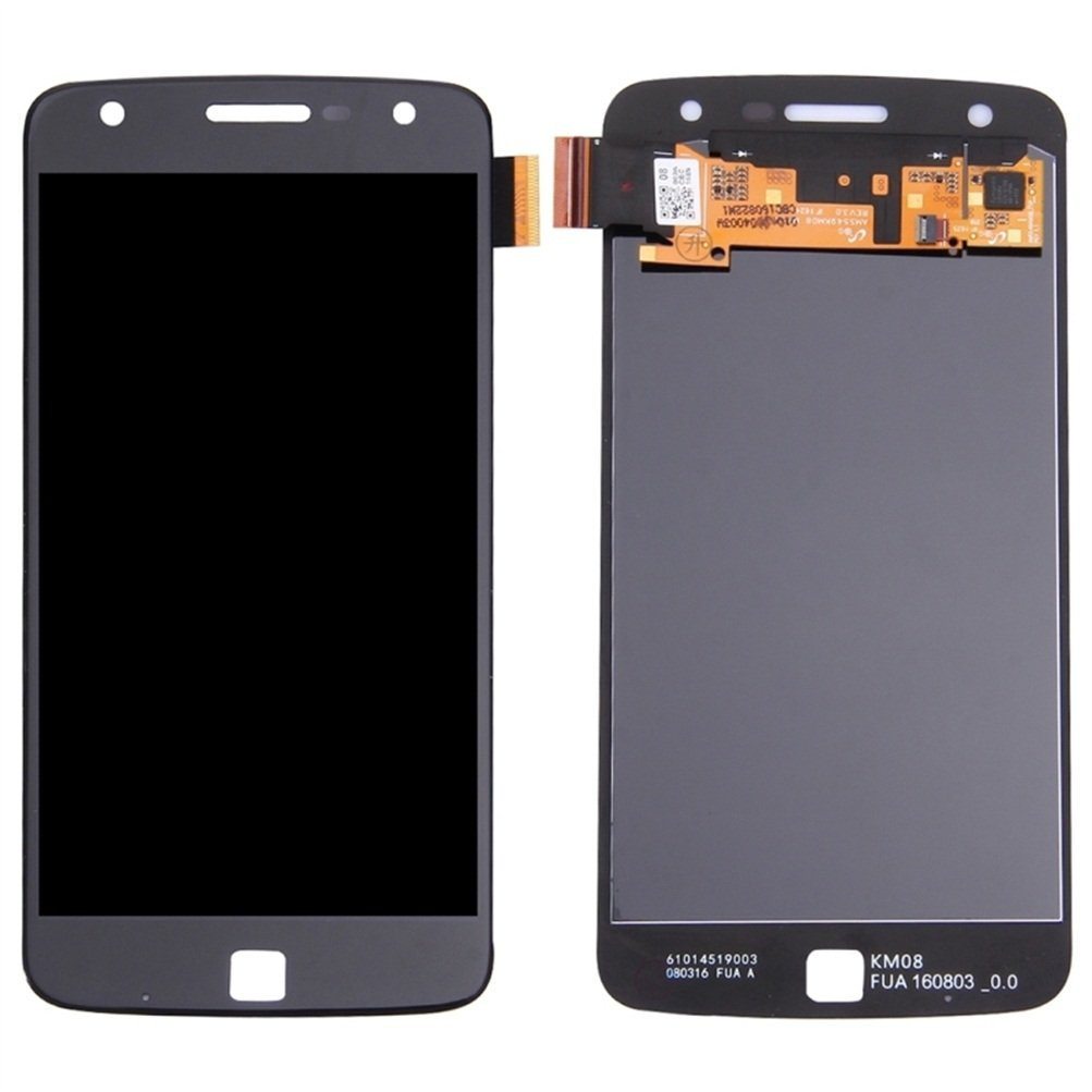 iPartsBuy for Motorola Moto Z Play LCD Screen + Touch Screen Digitizer Assembly(Black)