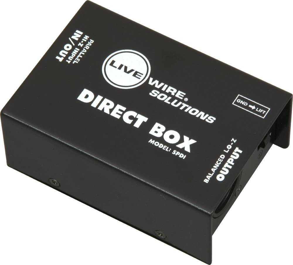Livewire SPDI Passive Direct Box with Attenuation Pad by Live Wire (Image #4)