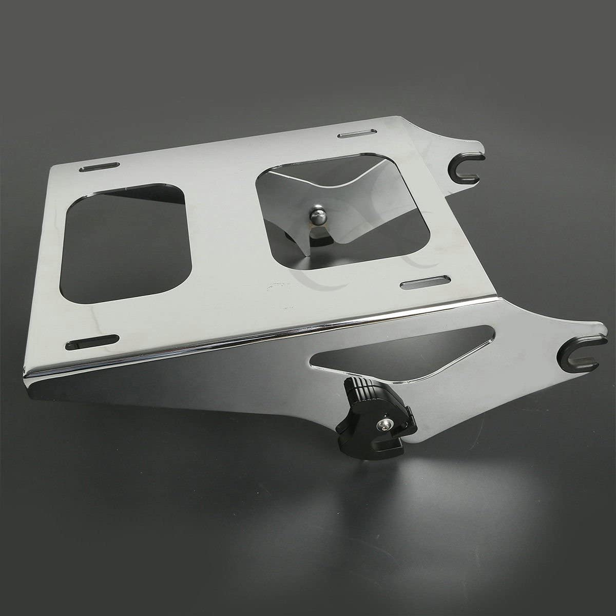 XFMT 4 Point Docking Hardware Luggage Rack Compatible with Harley HD Road Electra Glide 15 16 18